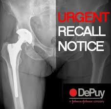Depuy Urgent recall images