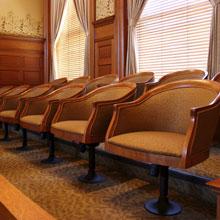 Jury box 220