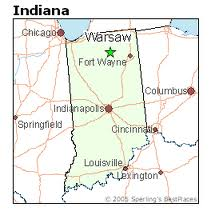 Warsaw Indiana images
